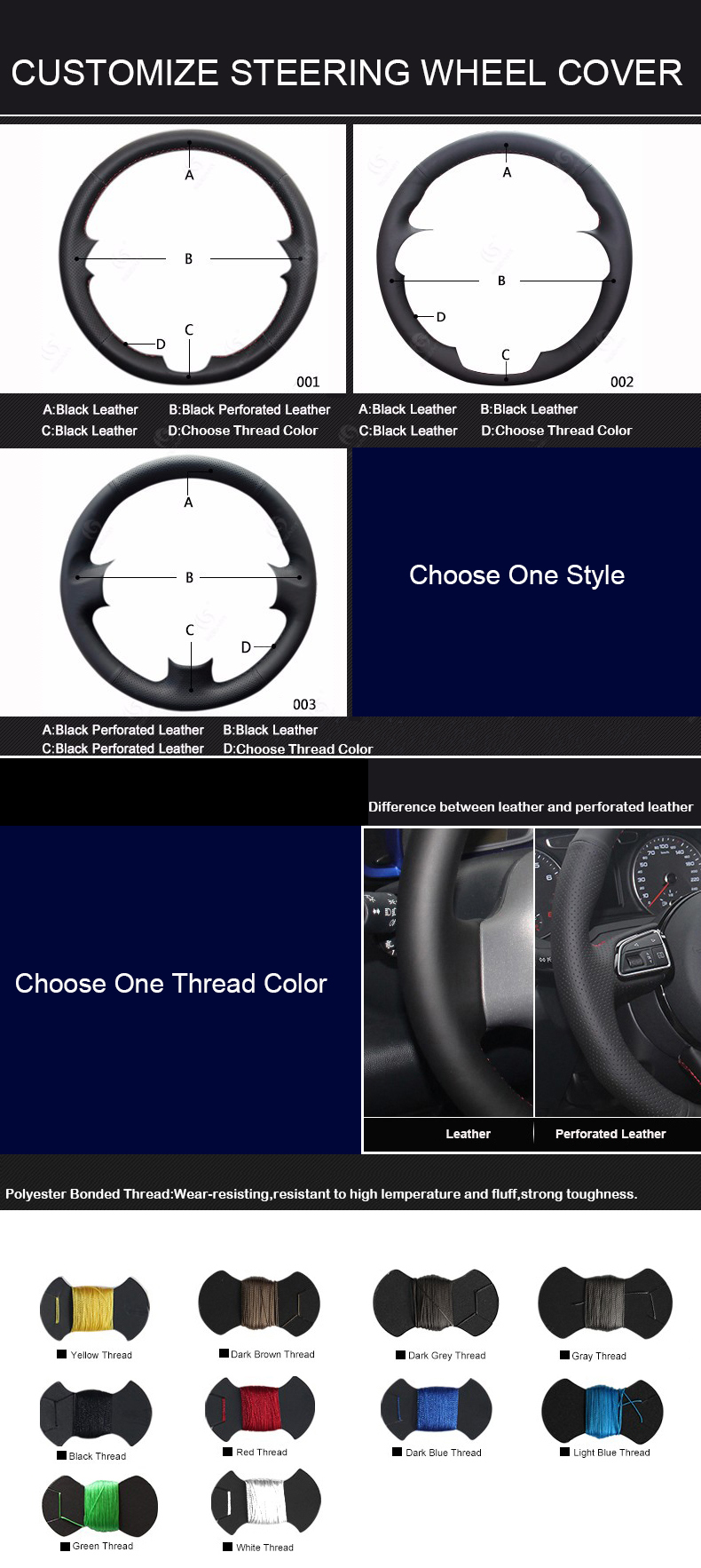 customization-steering-wheel-cover-micro-fiber-leather