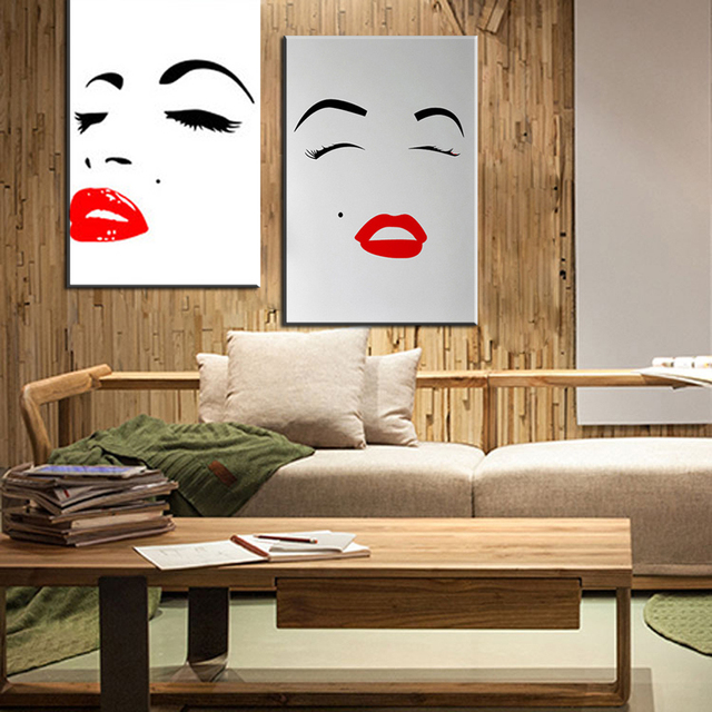Nice Xdr007 Marilyn Monroe Sexy Canvas Painting Wall Pictures For Living Room  Canvas Print Home Decor Posters