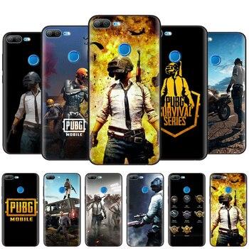 Cienki silikonowy skrzynki pokrywa dla Huawei Honor 9X Pro 9S 9C 9A 10i 8X 20 Pro 8S 10 Lite 8A 2020 Prime X10 5G Shell PUBG gra Art