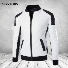 Уличные Лоскутные мужские кожаные куртки, повседневная мотоциклетная велосипедная верхняя одежда, мужские бархатные толстые пальто, зимние куртки Chaqueta Hombre