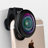 HD Fisheye Phone Lens 4K 238 Degree Full Screen Fish eye Smartphone Camera Clip on Mobile Lenses For iPhone 8 X XS Max Xr Plus