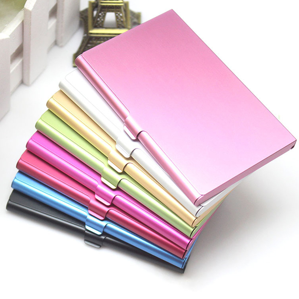 15 Stainless Steel Wallet RFID Blocking Identity Protection Card Holder Case New
