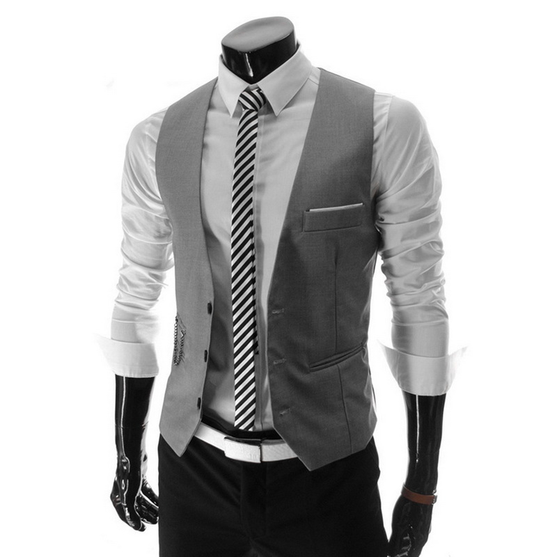 New Spring Formal Bomber Jacket Men Slim Fit Men Suit Vest Male Wedding Party Waistcoat Homme Casual Sleeveless Business Jacket