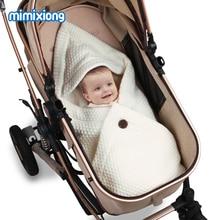 цены на Baby Sleeping Bags Winter Warm Infant Fleece Wrap Swaddle Blankets 0-6M Newborns Bebes Stroller Bedding Envelops Kids Sleep Sack  в интернет-магазинах