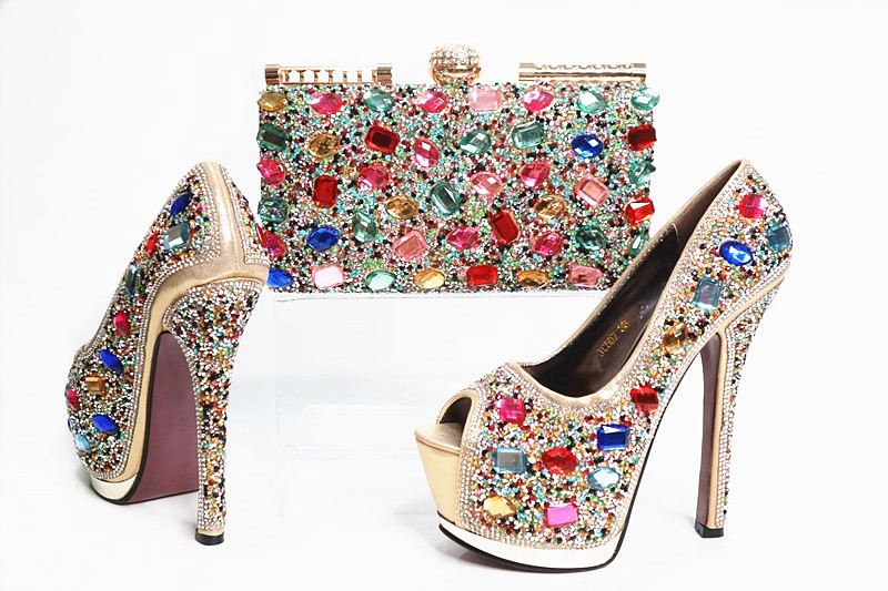 Здесь продается  new Pattern Dress Shoes Ladies Italian Shoes and Bag Set Guangzhou Shoes and purse for ladies  Обувь