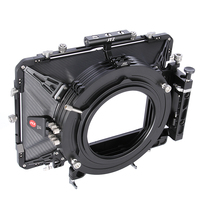 JTZ DP30 Cine Carbon Fiber 6x6 Matte Box 15mm/19mm For Sony ARRI RED CANON BMD A7 A7R A7RS A7III GH5 GH6 A6500 A6300