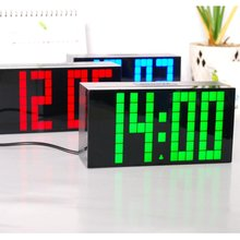 Lagre Big Jumbo Digital Display Thermometer Countdown Clock Desktop Electronic Clock Model Designs