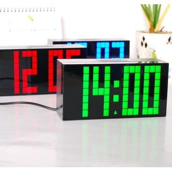 Lagre Big Jumbo Digitale Display Thermometer Countdown Klok Desktop Elektronische Klok Model Ontwerpen