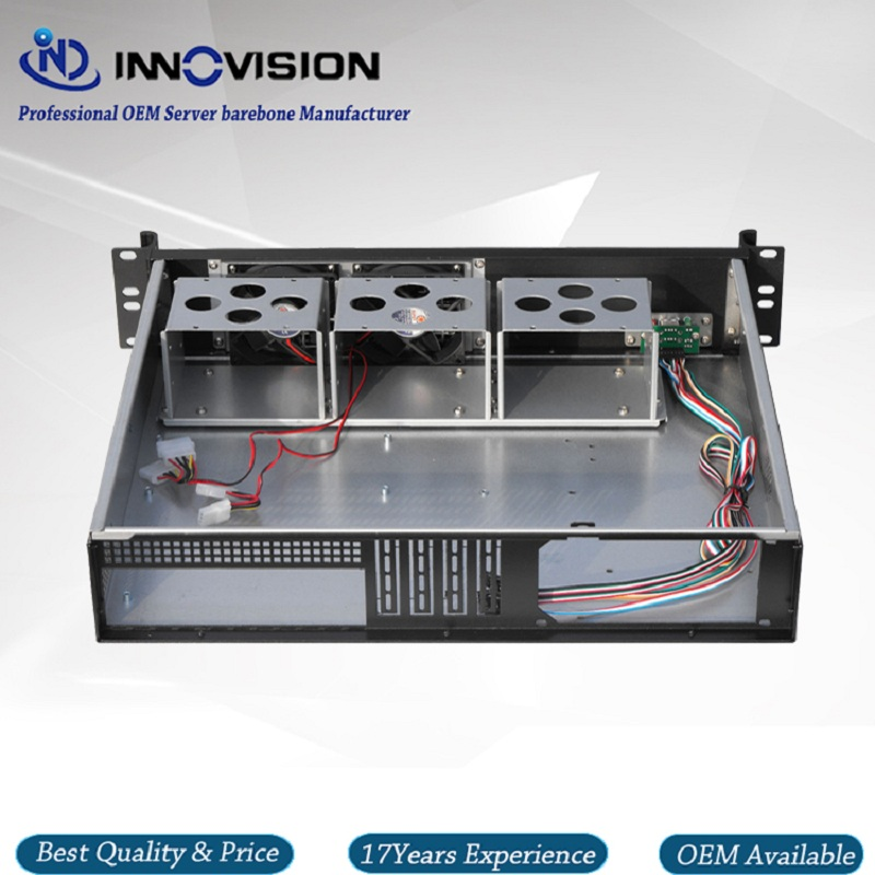Image 5 - Upscale Al front panel 2u server case RX2400 19inch 2U rack mount chassis-in Industrial Computer & Accessories from Computer & Office