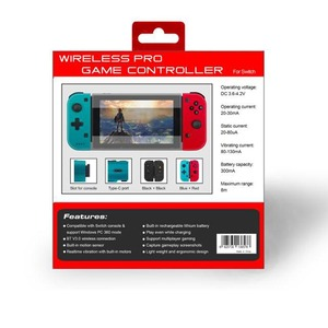 Image 5 - Extendable Wireless Remote Controller for Switch Controller Gaming Gamepad Joypad for Nintendo Switch Console