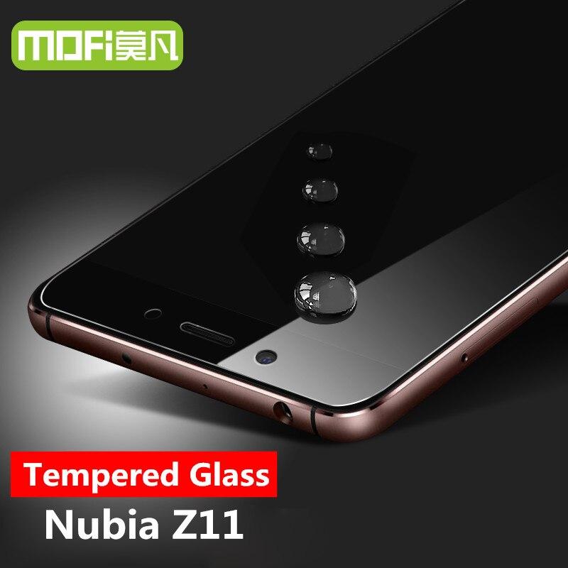 Nubia z11 vidrio templado MOFI original ZTE Nubia z11 protector de pantalla de película HD ultra protección Nubia z11 vidrio templado 5.5