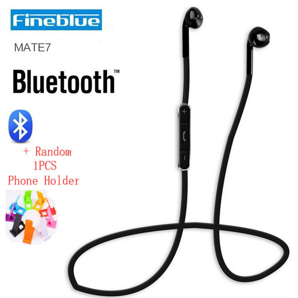 Fineblue Mate7 Stereo Blutooth Headset Wireless Earphone Auriculares Answer Call Listen Music Sport Headphone for Running Fone wireless service call bell system popular in restaurant ce passed 433 92mhz full equipment watch pager 1 watch 7 call button