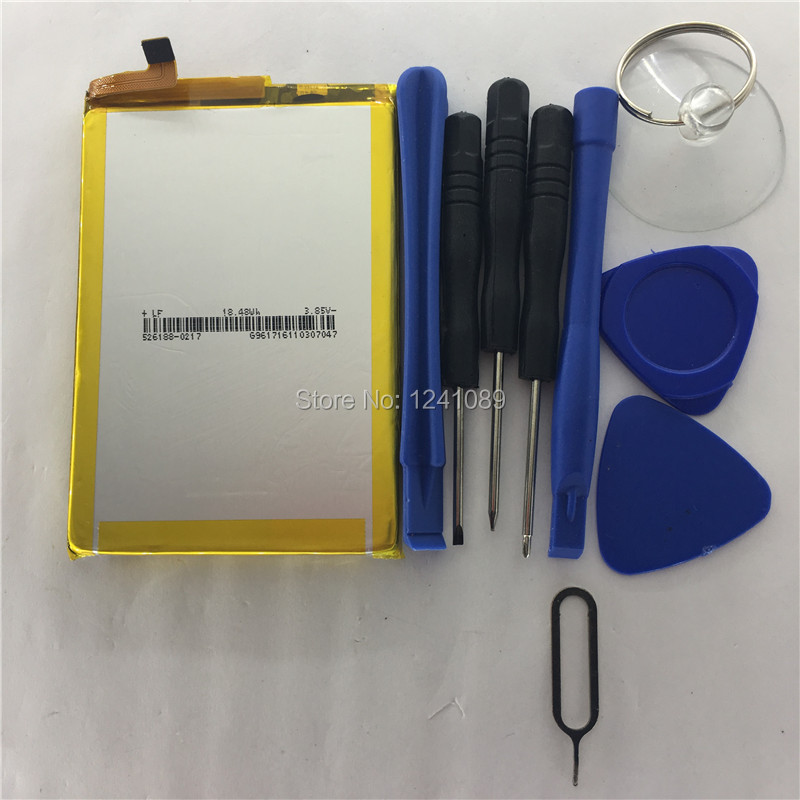 100 Original Battery Vernee Thor E Battery 5020mAh 5 0inch MTK6753 Disassemble Tool Long Standby Time