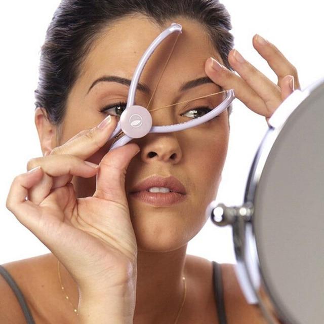 Body Facial Spring Threading Epilator Hair Remover Defeatherer Slique DIY Makeup Beauty Tool For Cheek Eyebrow Face Care Machine 4