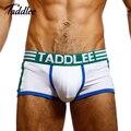 Taddlee marca hombres diseñado bajo la cintura de algodón sexy men underwear boxer trunks boxers gay bolsa pene estiramiento grande tamaño underwear