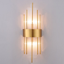 Nordic Modern LED Light Crystal Wall Lights Lamp Living Room Bedside Home Deco Sconce Lamps Fixtures