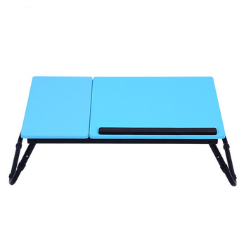 Large Fashion Laptop Table Adjustable Portable Folding Computer Desk Students Notebook Table Sofa Bed Office Laptop Stand Desk