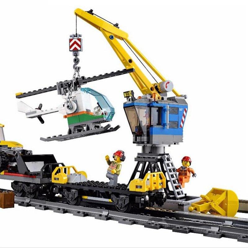 LOZ 1033 pièces Cité Génie Télécommande RC Train bricolage Bloc De Construction Briques Compatibles Avec Legoingly Technic Cadeau Jouets
