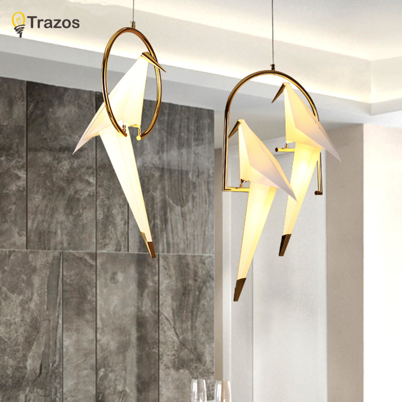 Led Modern Chandelier Novelty Lustre Lamparas Colgantes Lamp for Bedroom Living Room luminaria Indoor Light Chandeliers modern crystal chandelier hanging lighting birdcage chandeliers light for living room bedroom dining room restaurant decoration