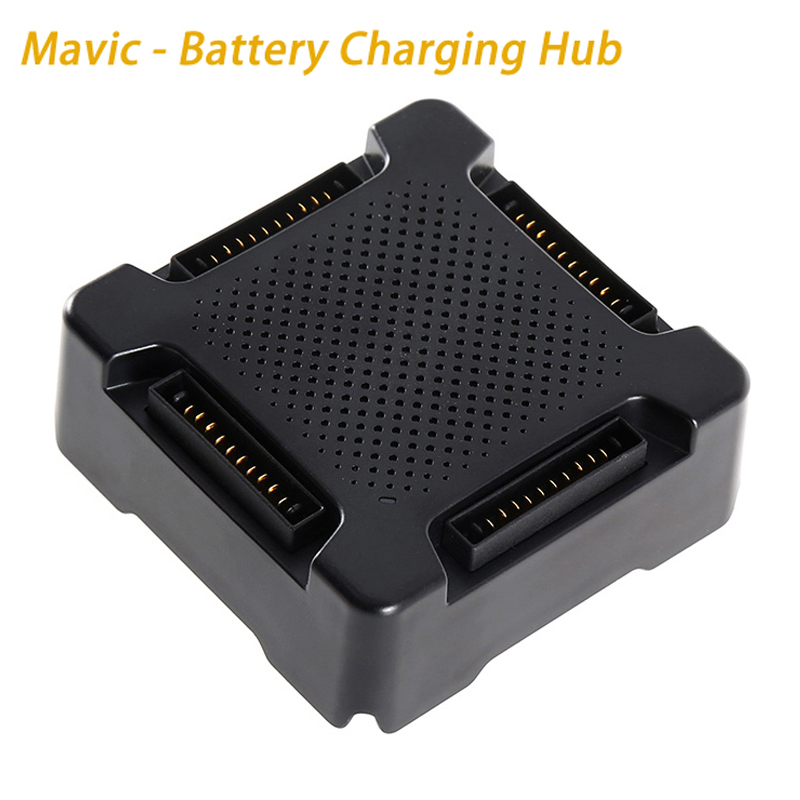 Original DJI Mavic pro charger - Battery Charging Hub for Mavic pro Quadcopter Drone Accessories квадрокоптер набор dji mavic pro 4k quadcopter бпла чёрный