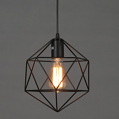 Nordic Loft Style Iron Droplight Edison Vintage Pendant Light Fixtures For Dining Room Industrial Lamp Lamparas Colgantes loft vintage edison glass light ceiling lamp cafe dining bar club aisle t300