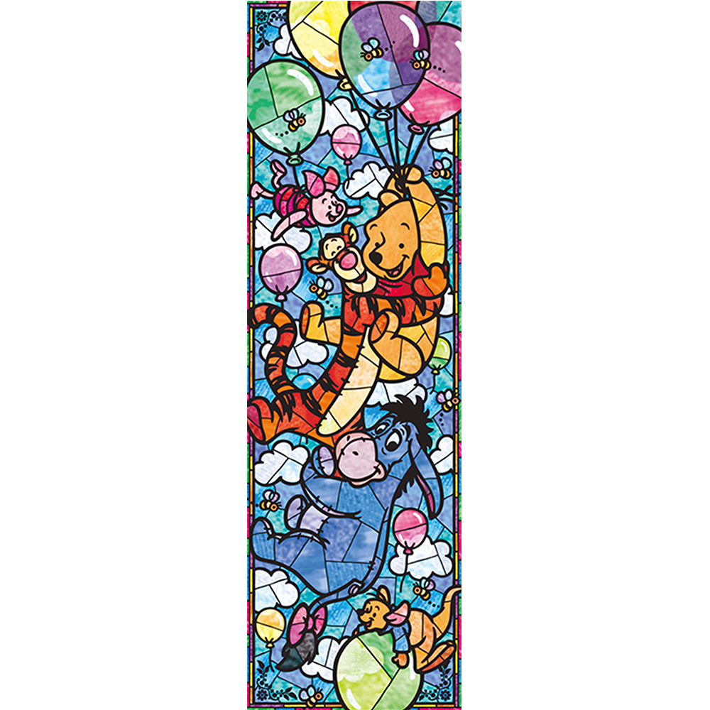 Urso dos desenhos animados decoração de casa série pintura, mão imagens, conjunto de partículas de resina praça cheia de diamantes ponto a920