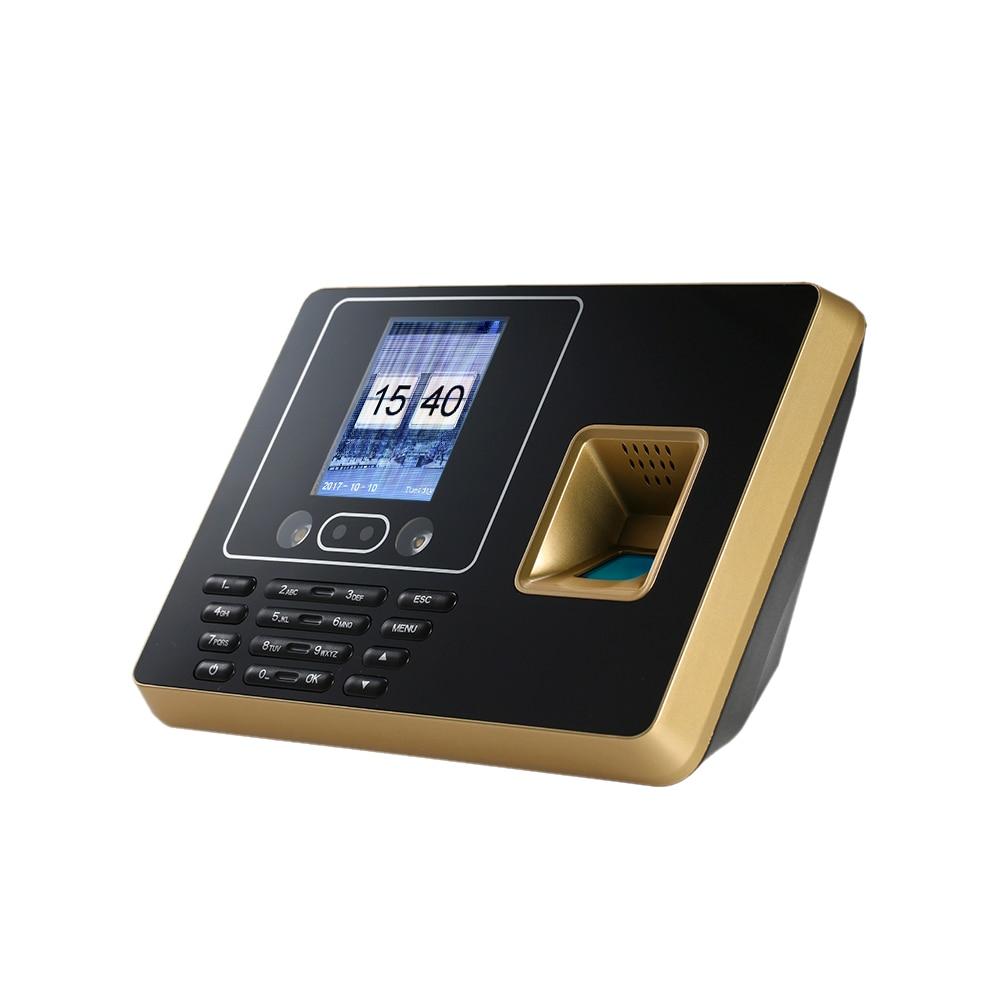 Biometric Fingerprint Attendance Machine TCP/IP 2.8inch Color Screen Employee Checking-in Recorder a c071 tcp ip rfid card biometric fingerprint time clock recorder attendance employee electronic punch reader machine realand