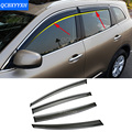 Car Stylingg Awnings Shelters 4pcs/lot Window Visors For Renault Koleos 2017 Sun Rain Shield Stickers Covers