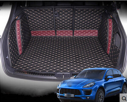 size 40 b19be ca948 Good mats! Special trunk mats for Porsche Cayenne 2016-2011 durable  waterproof boot carpets