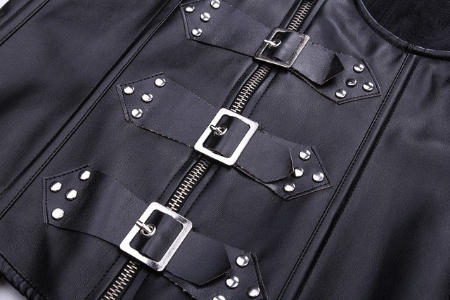 Leather Corset Bustier