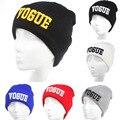 Мода Хип-Хоп Шляпа VOGUE Skullies Beanies Шляпы для Женщин Шерсти трикотажные Hat Cap Мужчины Письмо Шляпа Gorra Капот Бесплатная Доставка 1MZ0279
