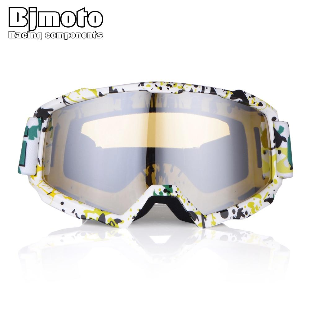 BJMOTO Motocross Goggles MX Off Road Helmets Goggle Ski Sport Gafas for Motorcycle Dirt Bike Racing Glasses Men Women