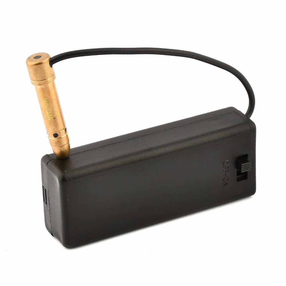 Mini Red Laser Bore Sighter, Cartridge Laser Tactical Red Dot Boresighter Hunter Tool, High Quality .22 Cal Rifle Gun Bore Sight