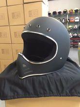 2016 new arrival Motorcycle helmet Japan TT&CO Retro full face helmet MOTO3 Style locomotive big Harley motorcycle helmet