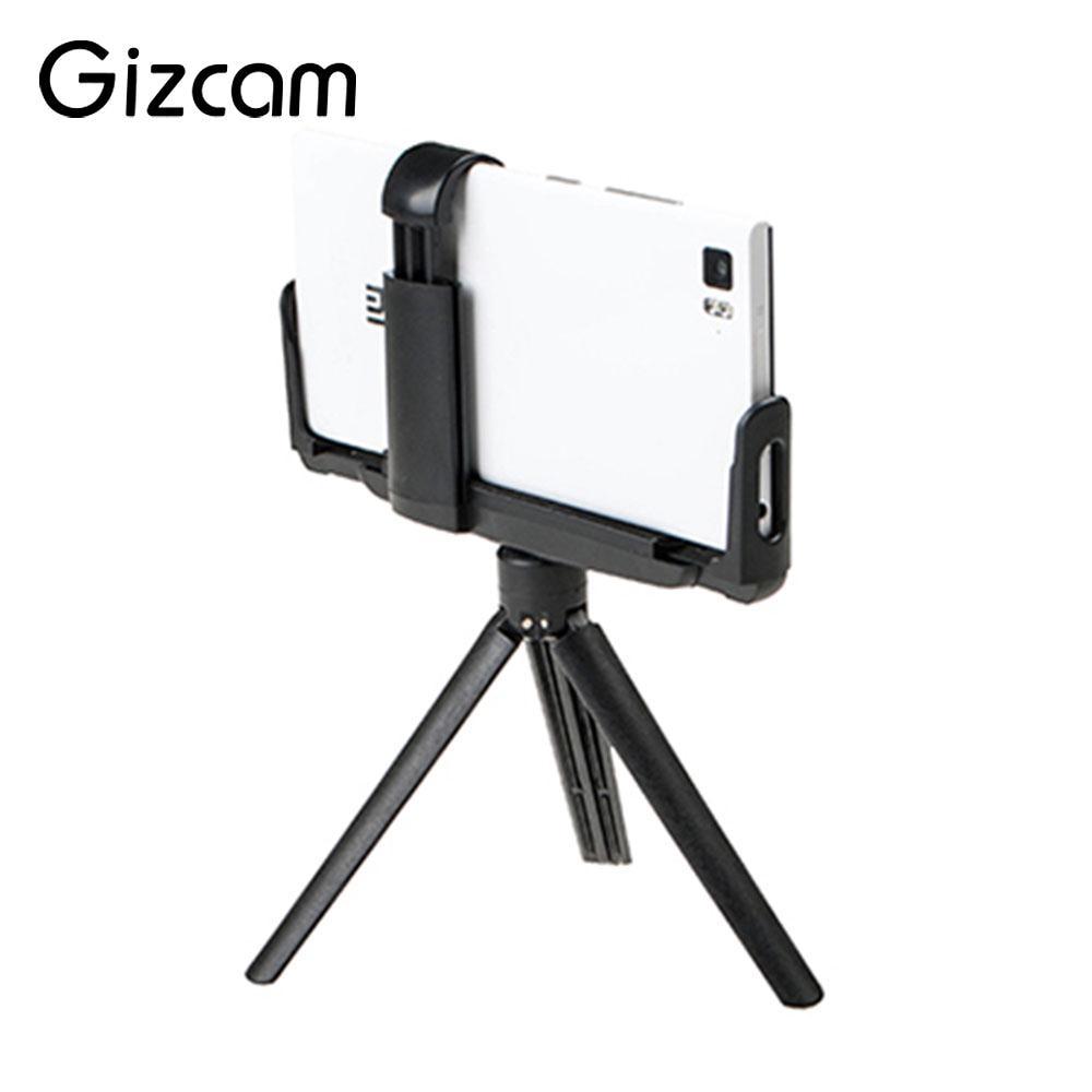 Small Size DSLR Camera Tripod Mobile Phone Stand Handheld Grip Mini Black smartphone
