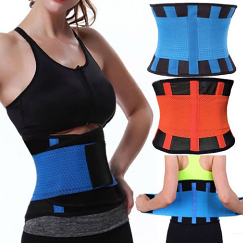 Unisex Adjustable Elstiac Waist Trainer Belt Slimming Waist Trainer Sport Lumbar Back Sweat Belt Fitness Belt Fitness Effect