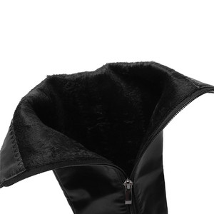 Image 5 - MORAZORA Botas de plataforma para mujer, botines hasta la rodilla, con cremallera, punta redonda y Tacón cuadrado, talla grande 34 48, para otoño e invierno, 2020