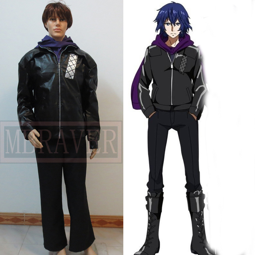 Anime leather jacket