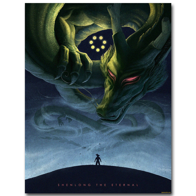 Dragon Ball Z Shenron Wall Poster