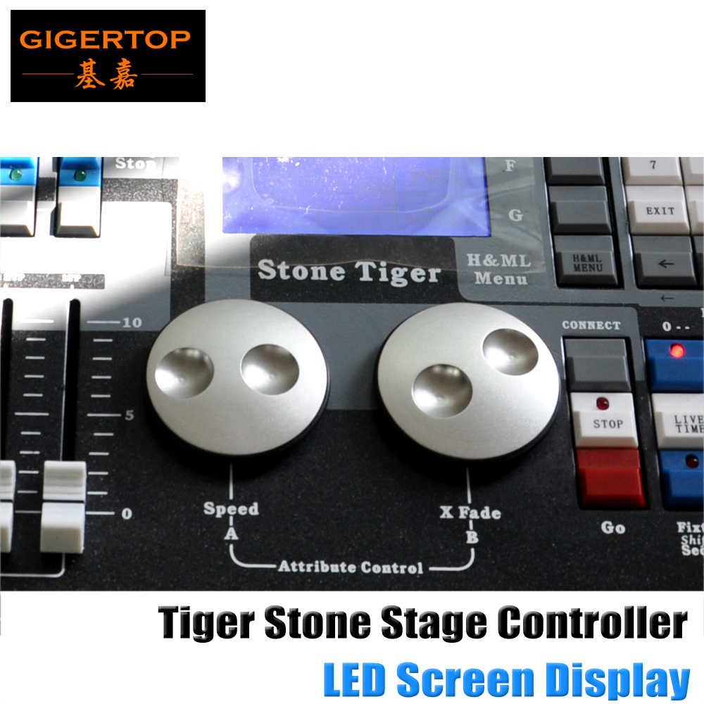 TIPTOP Stone Tiger DMX Light Controller With Aluminum / Iron / PC Shell DMX512/1990 Standard, Total 2048 DMX Controlling Channel