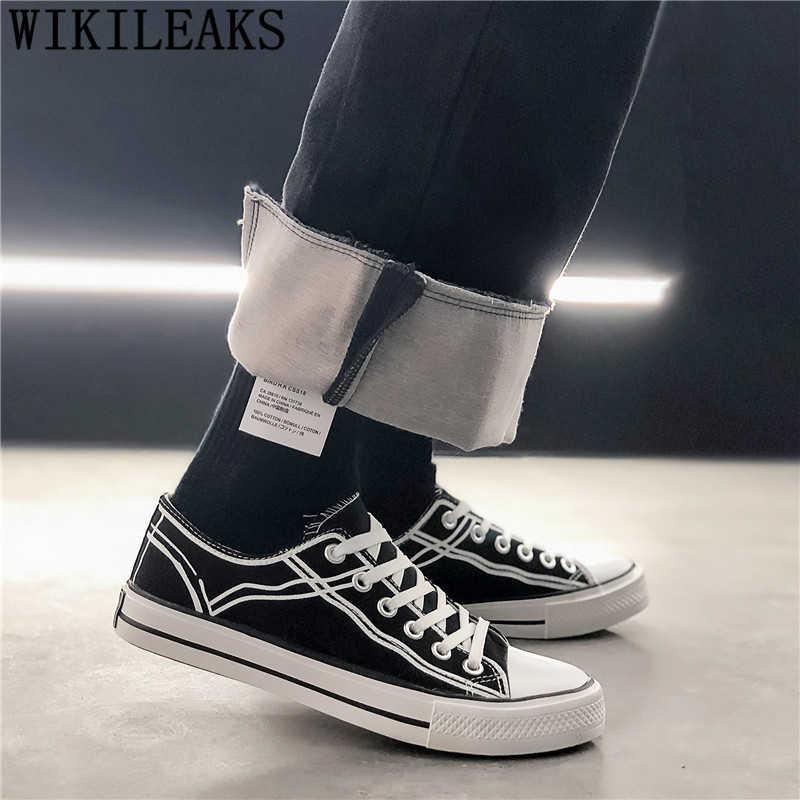 High Top Sneakers Hip Hop Schuhe Leinwand Schuhe Männer Espadrilles Männer Atmungsaktive Schuhe Zapatillas Hombre Casual Mokassin Homme