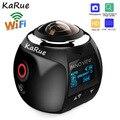 KaRue V1 камера 360 экшн-камера Wifi 2448*2448 Ультра HD мини панорамная камера 360 градусов Спортивная камера для вождения VR