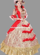 Historical Marie Antoinette Ball Gown Theatre Clothing Theme Party Dress