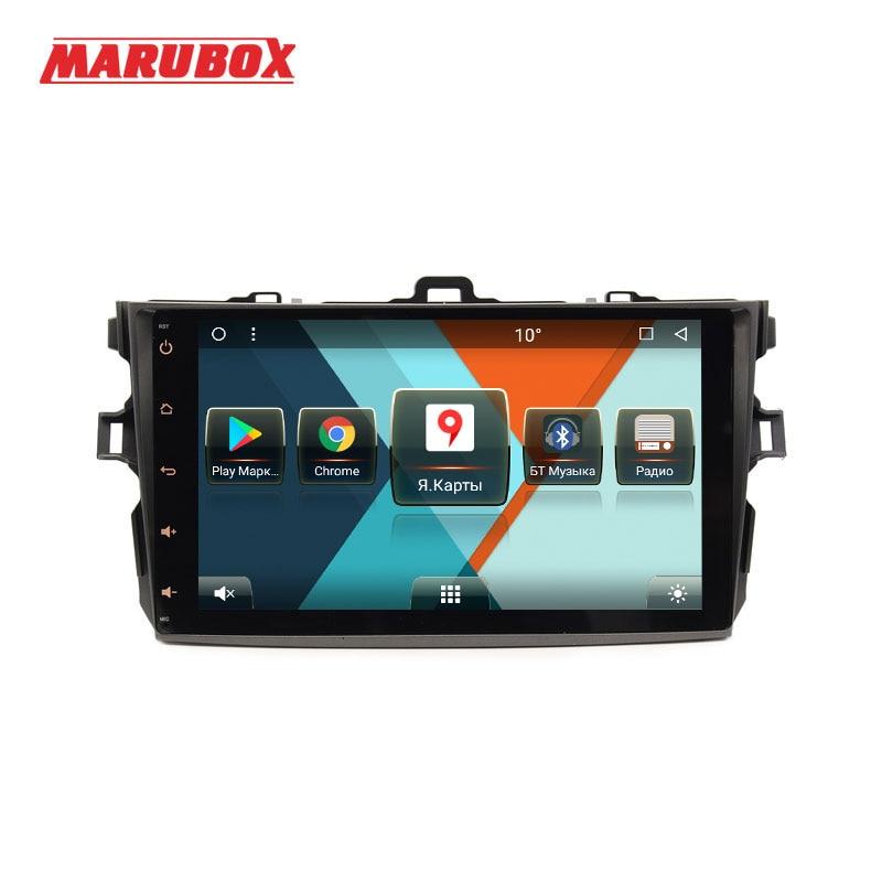 MARUBOX 9A101MT8 Car Multimedia Player for Toyota Corolla 2006 2011 Octa Core Android 8 1 9