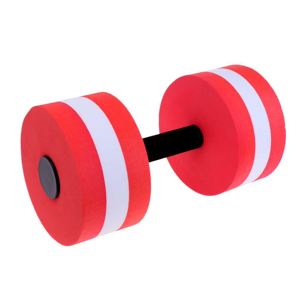 1 pieza EVA espuma de agua aeróbica acuática mancuerna EVA espuma Barbell piscina entrenamiento herramienta para ejercicio piscina Spa Fitness equipo