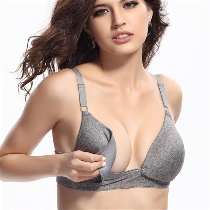 Aliexpress.com : Buy Women Maternity bra Tops Breastfeeding Bra ...