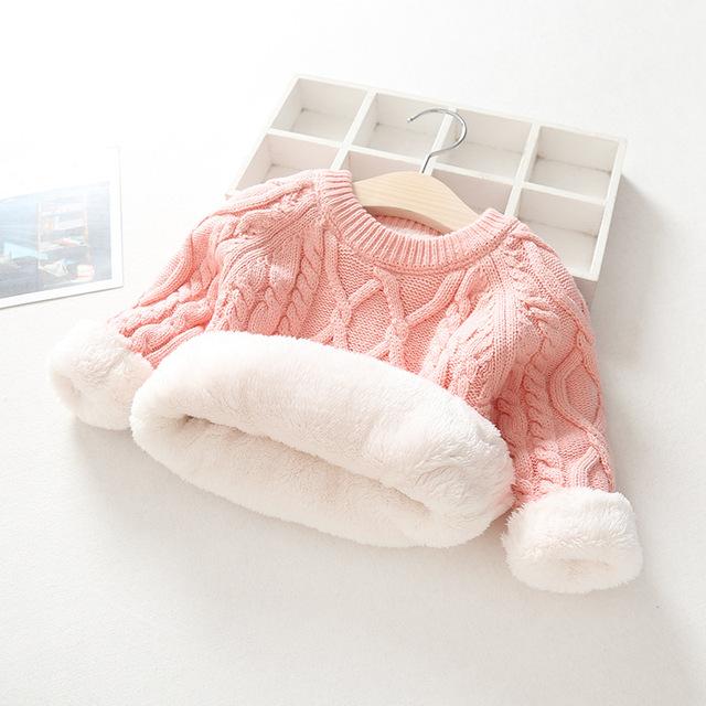 kids boys sweater 20108 winter thick warm kids jumper age for 1 – 12 yrs baby boy girls sweater autumn long sleeve knitwear tops