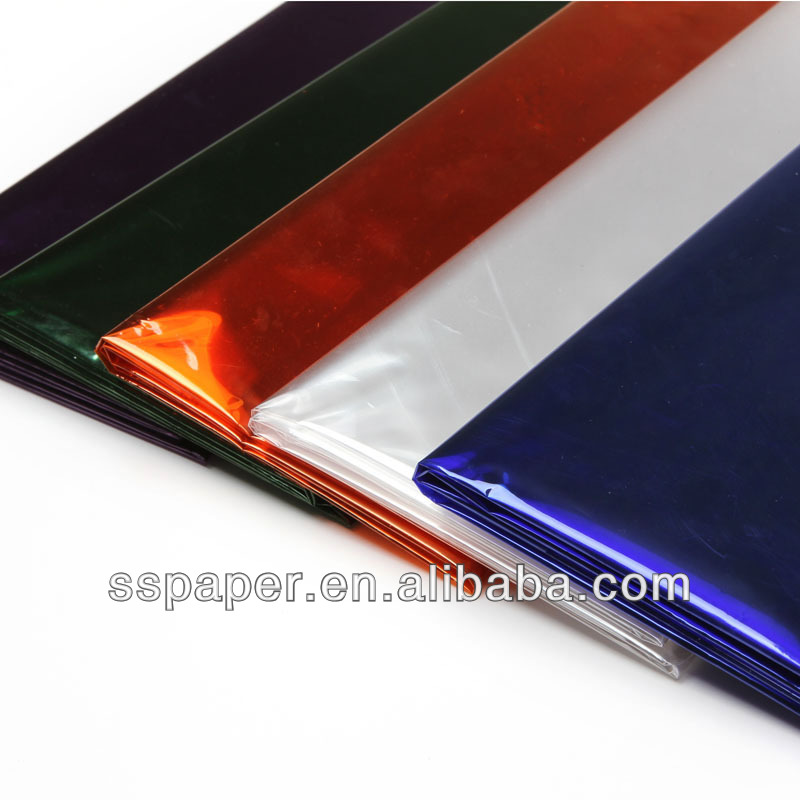 Free Shipping 2sheehts Lot 70 100cm Solid Color Wrapping