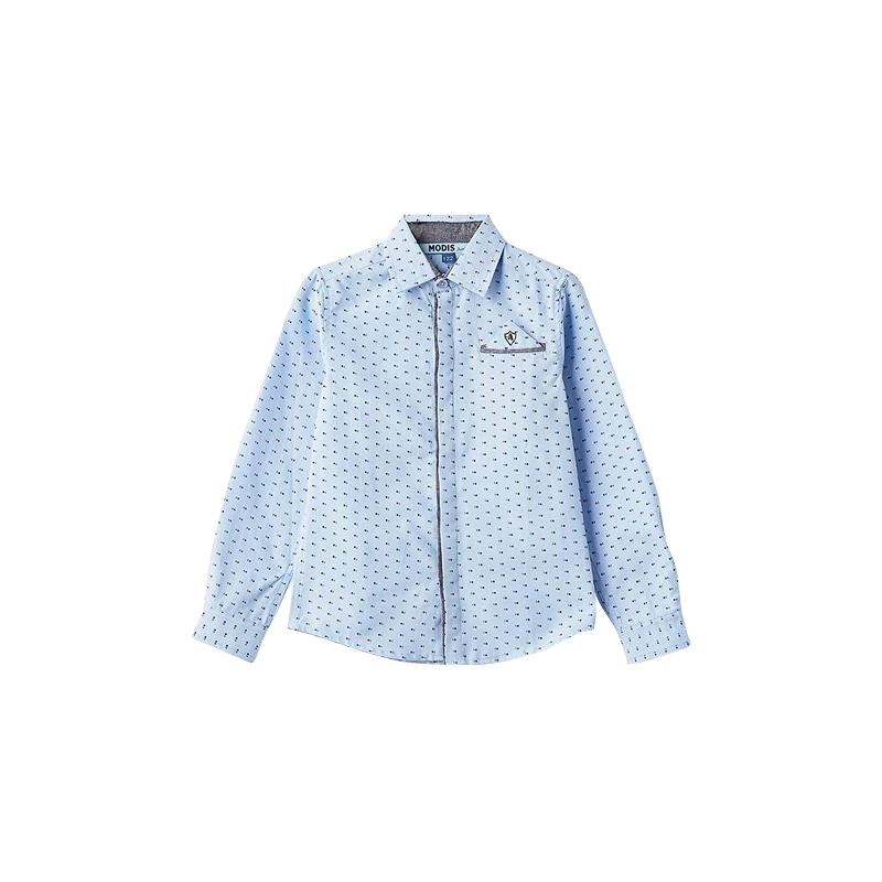Blouses & Shirts MODIS M182K00071 for boys kids clothes children clothes TmallFS children casual shoes modis m182a00277 for boys kids clothes children clothes tmallfs