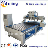 ML 1325 Multi Spindle Cnc Router Automatic Tool Changer Wood Cnc Router 1325